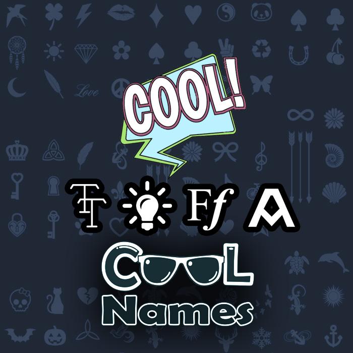 Tutte le decorazioni e i personaggi per 😍 Lamyaa - Decorare nomi freddi 😎